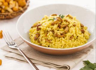 Ricetta: risotto ai finferli