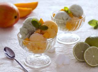 Come preparare un sorbetto al lime e zenzero