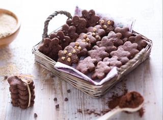 Biscotti alla quinoa e cioccolato