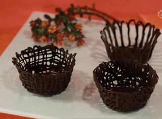 Come fare i cestini di cioccolato