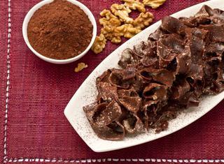 Ricetta: tagliatelle al cacao, gorgonzola e noci