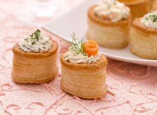 Come guarnire i vol-au-vent