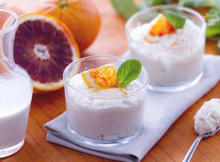 Ricetta: mousse all'arancia