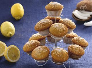 Ricetta: muffin al limoncello e cocco