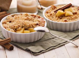 Crumble di mele: la ricetta