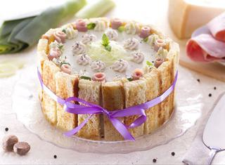 Ricetta: charlotte salata