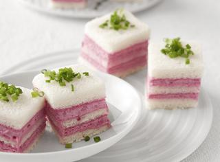 Cremini salati in rosa