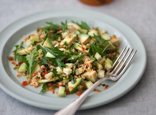 Taboulé di cetrioli e avocado