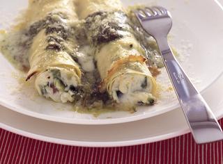 Cannelloni di ricotta e zucchine