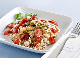 Come cucinare il riso pilaf con pomodorini