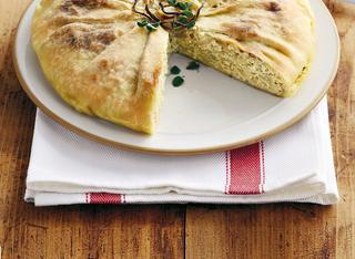 Torta cipolle e ricotta