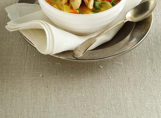 La zuppa allo zafferano