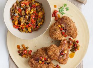 Ali di pollo alla paprica con salsa agrodolce