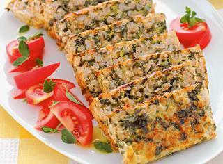 Torta di farro e verdure primaverili