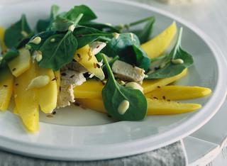 Come preparare l'insalata di mango