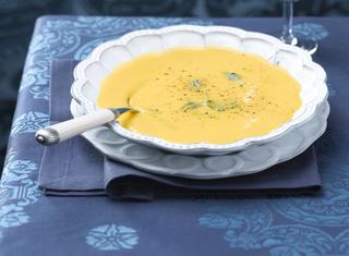 Zuppa di latte e zucca