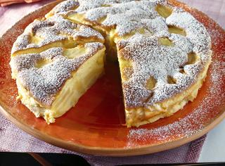 Torta di mele light