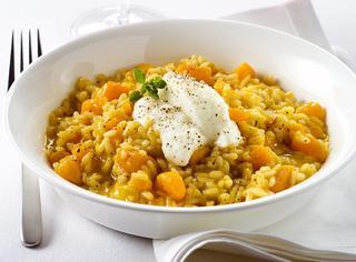 Come preparare il risotto alla zucca gialla