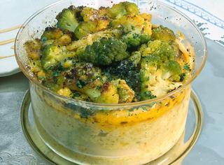 Sformato di cavolo broccolo