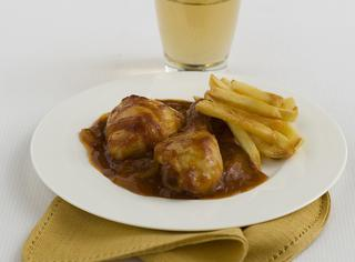 Cosce di pollo piccanti al forno