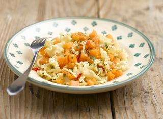 Pasta con la zucca alla napoletana