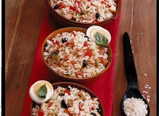 Insalata di riso ricca