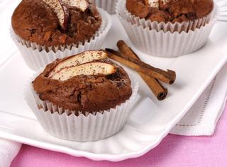 Muffin con mele e cannella