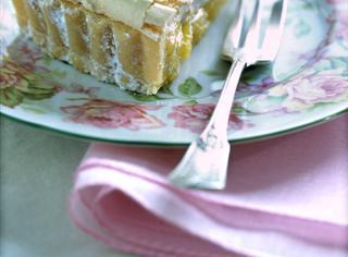 Crostata di crema al limone