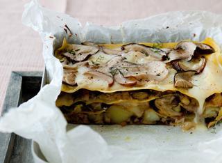 Lasagne con patate e taleggio
