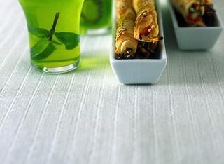 La gelatina di mela verde e cedrata