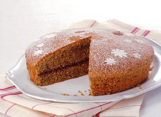 Ricetta: torta di grano saraceno con confettura di lamponi