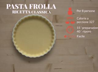 Video ricetta pasta frolla classica