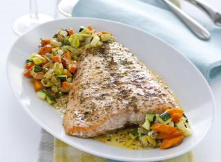 Salmone al forno: la ricetta