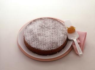 La torta di cachi