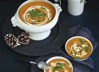 Ricetta: zuppa invernale vegana