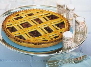 Ricetta Crostata alle mele e frutti di bosco