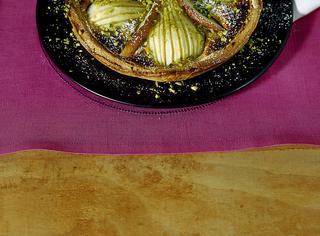 Ricetta: crostata di pere e crema alla cannella
