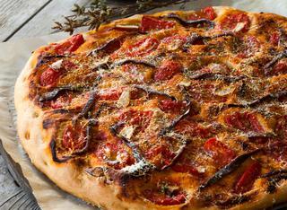 Pizza rianata di Kamut ®