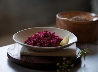 Riso salatato con lenticchie di castelluccio