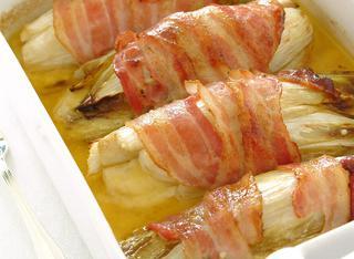 Belga con bacon croccante