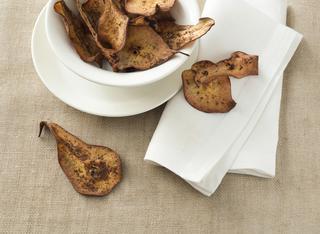 Cialde di pera al cacao