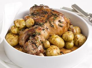 Spalla di agnello e patate