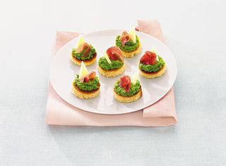 Crostini tricolore
