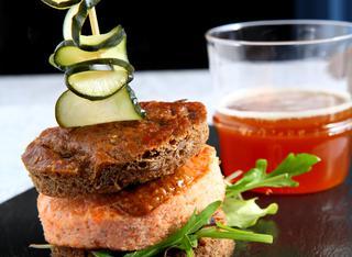 Gli hamburger di salmone