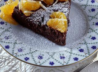Come cucinare la torta ai 2 cioccolati e mandarini