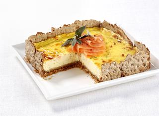 Cheesecake al salmone affumicato
