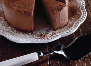 La torta morbida di cioccolato