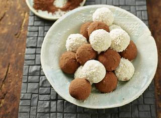 Profiteroles de coco