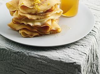 Crêpe di riso al miele e limone