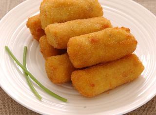Crocchette fritte